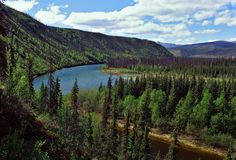 The Yukon River, Alaska.
