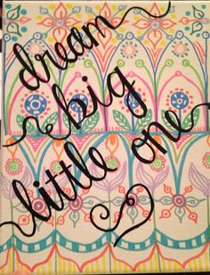 Big/Little Canvas by GreekCanvases on Etsy, $20.00