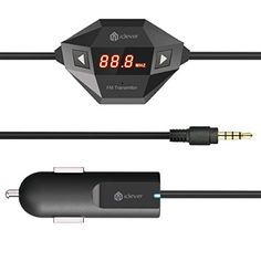 [#1 Rated In-Car FM Transmitter on Amazon] iClever® IC-F27 In Car Universal Wireless FM Transmitter with USB Car Charger for Smartphone, MP3 MP4 and any Audio Player with 3.5mm Audio Jack including iPhone 6/ 6 Plus / 5 / 5S / 4S / 4, Samsung S3 S4, HTC One (M8), Motorola Droid X, Nokia Lumia 520/900/1020, iPod, iPod Touch iClever http://www.amazon.com/dp/B00HIATW04/ref=cm_sw_r_pi_dp_SCnivb0SED8TP