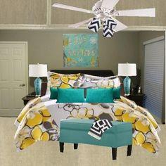 Concept Bedroom Ashley W  Blondiesloft, Catz DiVirgilio
