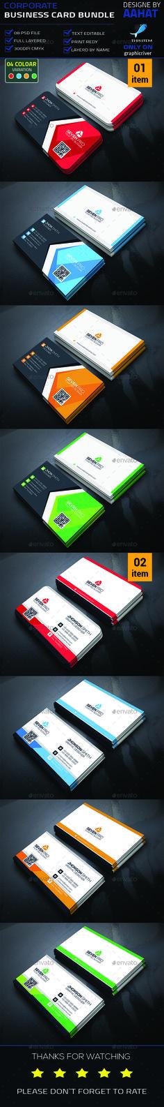 Corporate Business Card Template PSD Bundle. Download here: http://graphicriver.net/item/corporate-business-card-bundle/15788116?ref=ksioks