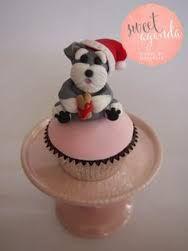 Resultado de imagen para schnauzer cupcakes