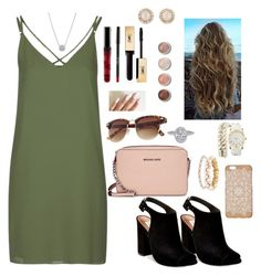 """""""Movie time with him"""" by paytton-white on Polyvore featuring Topshop, Steve Madden, Michael Kors, Terre Mère, Yves Saint Laurent, Marchesa, Anne Klein, Charlotte Russe and Kate Spade"""
