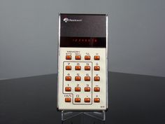 Calculatrice calculator ROCKWELL 18R led vintage 70's 1975