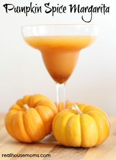 Pumpkin Spice Margaritas are a perfect fall cocktail and add a twist to traditional margaritas!