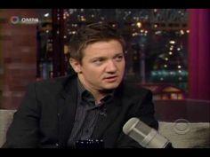Jeremy Renner on Letterman