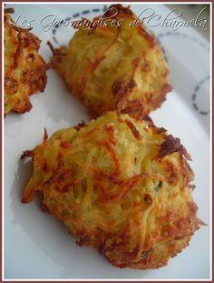 Galettes de pommes de terre et parmesan