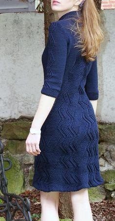 Bryn Mawr Dress - via @Craftsy by worldknits on www.craftsy.com  Love this dress!