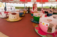 Harmonyland is a Sanrio (think characters like Hello Kitty) theme park in Japan
