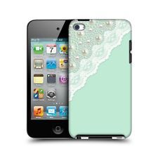 mint green lace and pearls head case for i pod touch 4th generation