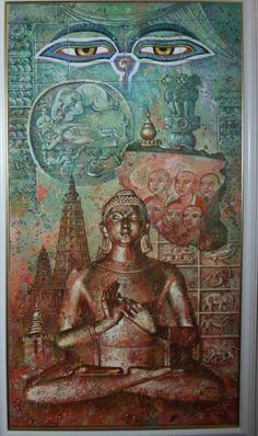 "The series ""ethnos"". Buddha."