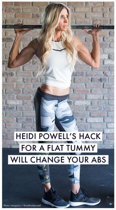 Have you tried every ab exercise known to man and still can't find that flat belly you've been working for? Fitness guru Heidi Powell is here to help. Womanista.com