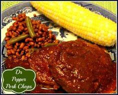 Sweet Tea and Cornbread: Slow Cooker Dr Pepper Pork Chops!