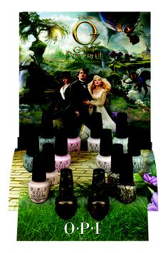 OPI Disney's Oz The Great and Powerful Collection Press Release & Promo Pictures Plus New Liquid Sand Shade The Witches Of Oz, Opi Collections, Pictures Plus, My Bubbles, Opi Nails, Nail Polishes, Manicures, Nail Polish Collection, Nail Polish Colors