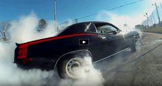 You just have to see William Rinaldo roasting the tires of this beautiful Plymouth Cuda. It's not another stupid burnout video, I promise!