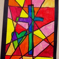 third grade art project.