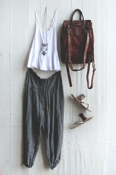 leather backpack, sandles metal |4 Costa Rica | Free People Blog #freepeople #Bohofashion