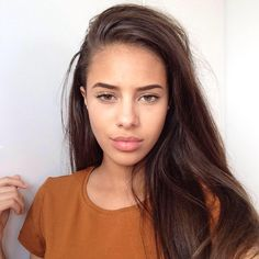 Find images and videos about girl, fashion and beautiful on We Heart It - the app to get lost in what you love. Beautiful Lips, Gorgeous Hair, Simply Beautiful, Beauty Photography, Beauty Secrets, Hair And Nails, Beauty Women, Hair Inspiration, Brows