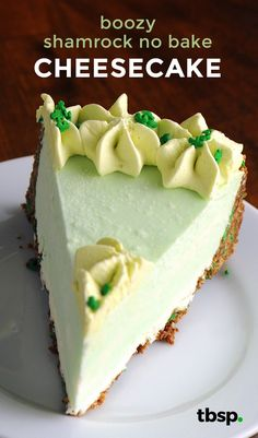 Try this extra delicious no-bake cheesecake to make your St. Paddy's Day fun and festive.