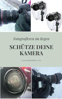 Fotografieren im Regen: So schützt du deine Kamera
