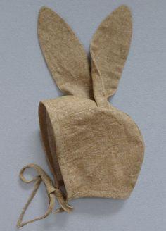 Eine Mütze für kleine Osterhasen – Schnittmuster und Anleitung