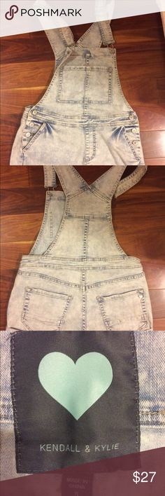 Kendall and Kylie overalls! (PACSUN) Very cute! Perfect for the summer. Never worn Kendall & Kylie Other