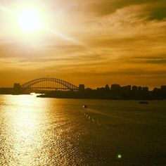 Ripple Effect #sydneyharbourbridge #sydneyharbour #sunset #harbour #bridge #cruise #sydney #pacific #ocean #orange #beautiful #dusk #evening #sun #shine #waves #wind #ripples #seaviews #waterviews #sea #harbour by qwicksilver http://ift.tt/1NRMbNv