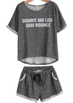 Goodbye bad luck good riddance