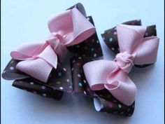 This youtube channel (JustAddABow's) has a lot of cute ideas on hair bows. For two years now I have looked for ideas on how to make my own bows. This has been the easiest and cutest way I have found yet.