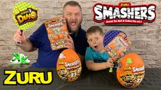 Kouli Kollector and Dad Kollector open up a massive surprise sent to us from ZURU! It is the ZURU Smashers Series 3 Epic Dino Eggs and the ZURU Smashers Seri. Carters Baby Girl, Baby Girls, Toddler Toys, Children Toys, Dino Eggs, Toys R Us Canada, Baby Diaper Bags, All Toys, Hospital Bag