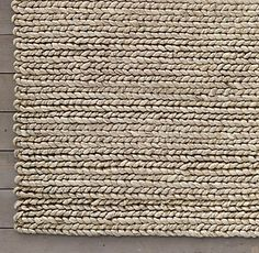 RHu0027s Chunky Braided Wool Rug   Marled:Our Thick And Chunky Wool Rug Has The