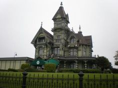 Image result for carson mansion california