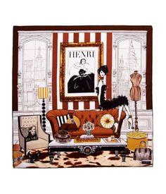 Bendel Room Scarf | Scarves | Henri Bendel
