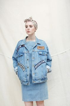 Patch Denim Jacket  http://www.thewhitepepper.com/collections/new-in/products/denim-jacket