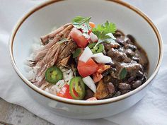 Florida Recipe: Cuban Pork Shoulder with Beans and Rice | With more than 8,000 farmers' markets nationwide and counting, it's clear we love them, and everyone is raving about them. Here's what top foodies around the country are saying about their favorites.Produced and compiledby Grace Elkus and Tim Cebula.