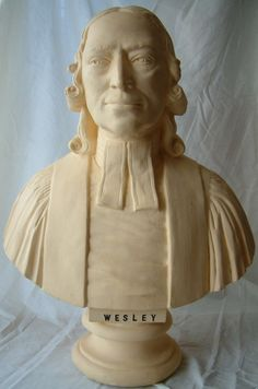 Stratford London, John Wesley, Plaster, 18th Century, Statue, The Originals, Modern, Plastering, Trendy Tree