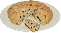 Made with just a little sugar and plenty of dried fruit, this bread has been an Irish favourite, especially with children, for generations. It's essentially a white soda bread recipe with added fruit and sugar and needs to be eaten the day it is made - which shouldn't present a problem!