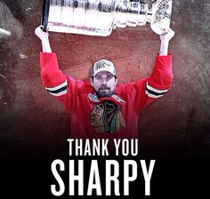 """Traded VP/GM Stan Bowman: """"He will forever be a Blackhawk and we wish him and his family nothing but the best in Dallas and beyond. Ice Hockey Players, Hockey Teams, Hockey Rules, Hockey Stuff, Blackhawks Hockey, Chicago Blackhawks, Chicago Hockey, Chicago Chicago, Patrick Sharp"""