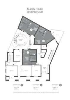 Ground Floor Studios Floor Plan
