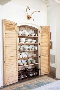 Storage with character