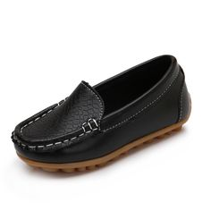 0b8f8b4d3 Girls Flat Slip On PU Leather Casual Loafers //Price: $10.95 & FREE.  Flat Dress ShoesCasual ...