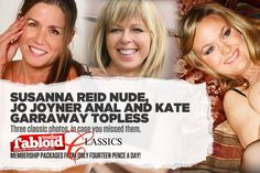 Tabloid Truths Classics: Jo Joyner Anal, Kate Garraway Topless And Susanna Reid Nude