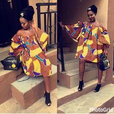 Top Ten Trendy Ankara Styles For Beautiful Ladies | Dabonke