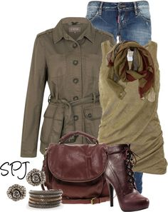 """Safari Chic"" by s-p-j on Polyvore"