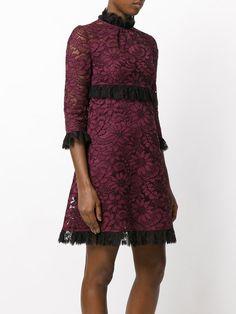Dolce & Gabbana Frill Lace Dress $2,675
