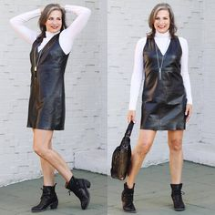 70 #Trendy #Black #Leather #Outfit #Ideas For Sexier Look
