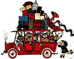 Fahr mit im Kli-Kla-Klawitterbus...