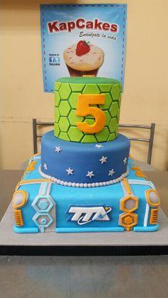 Imagini pentru miles from tomorrowland cakes Birthday Cakes For Men, 4th Birthday Parties, Thomas Birthday, Man Birthday, Birthday Ideas, Miles From Tomorrowland, Transformer Party, Character Cakes, Cute Cakes