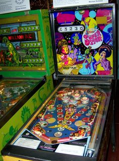 """1972 Super Star """"Williams """" Pinball Machine"""
