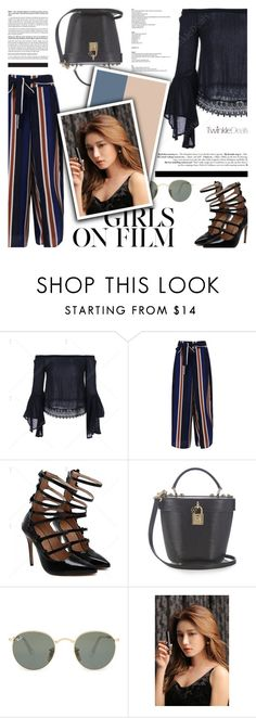 """""""Twinkle Deals - Girls Day Out"""" by defivirda ❤ liked on Polyvore featuring Dolce&Gabbana, Ray-Ban and StyleNanda"""